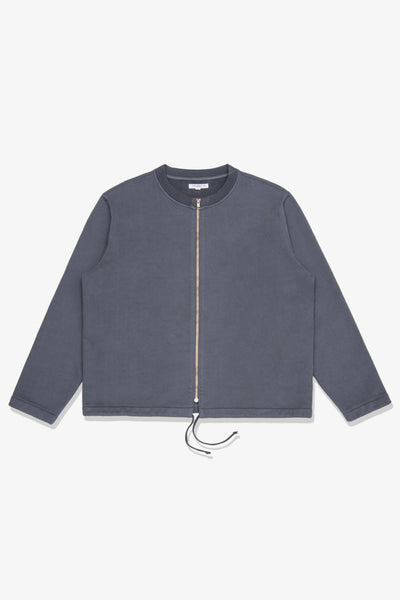 ZIP CARDIGAN - NIGHT GREY