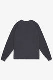 CROPPED RAGLAN THERMAL - NIGHT GREY
