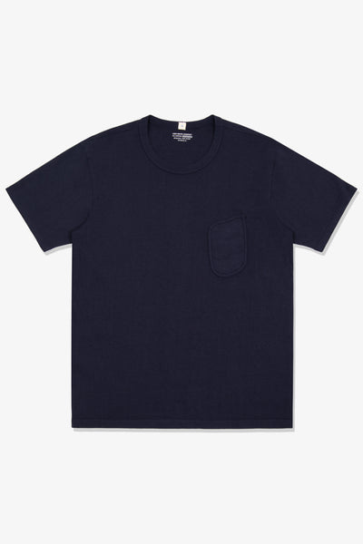 CLARK POCKET T-SHIRT - NAVY