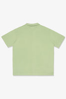 S/S PLACKET POLO - JADE