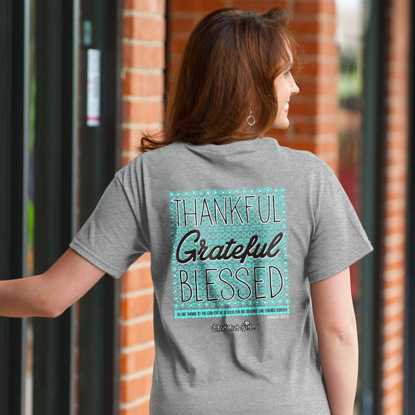 Cherished Girl® - Thankful Grateful Blessed T-Shirt ™