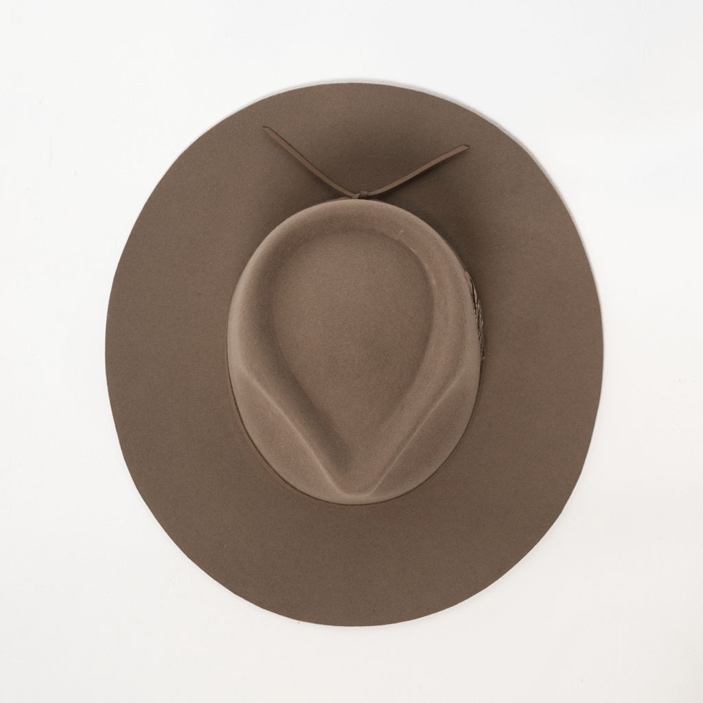Wool Wide Brim THE DON - IVORY