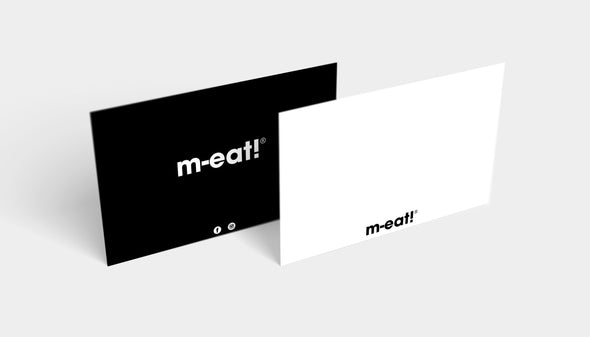 M-eat! Gift Note
