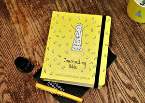 NIV Journalling Bible & FREE Colouring Book