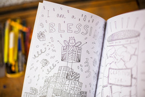 'I Am So Many Things' Colouring Book