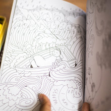 Boy's Book & Colouring Book