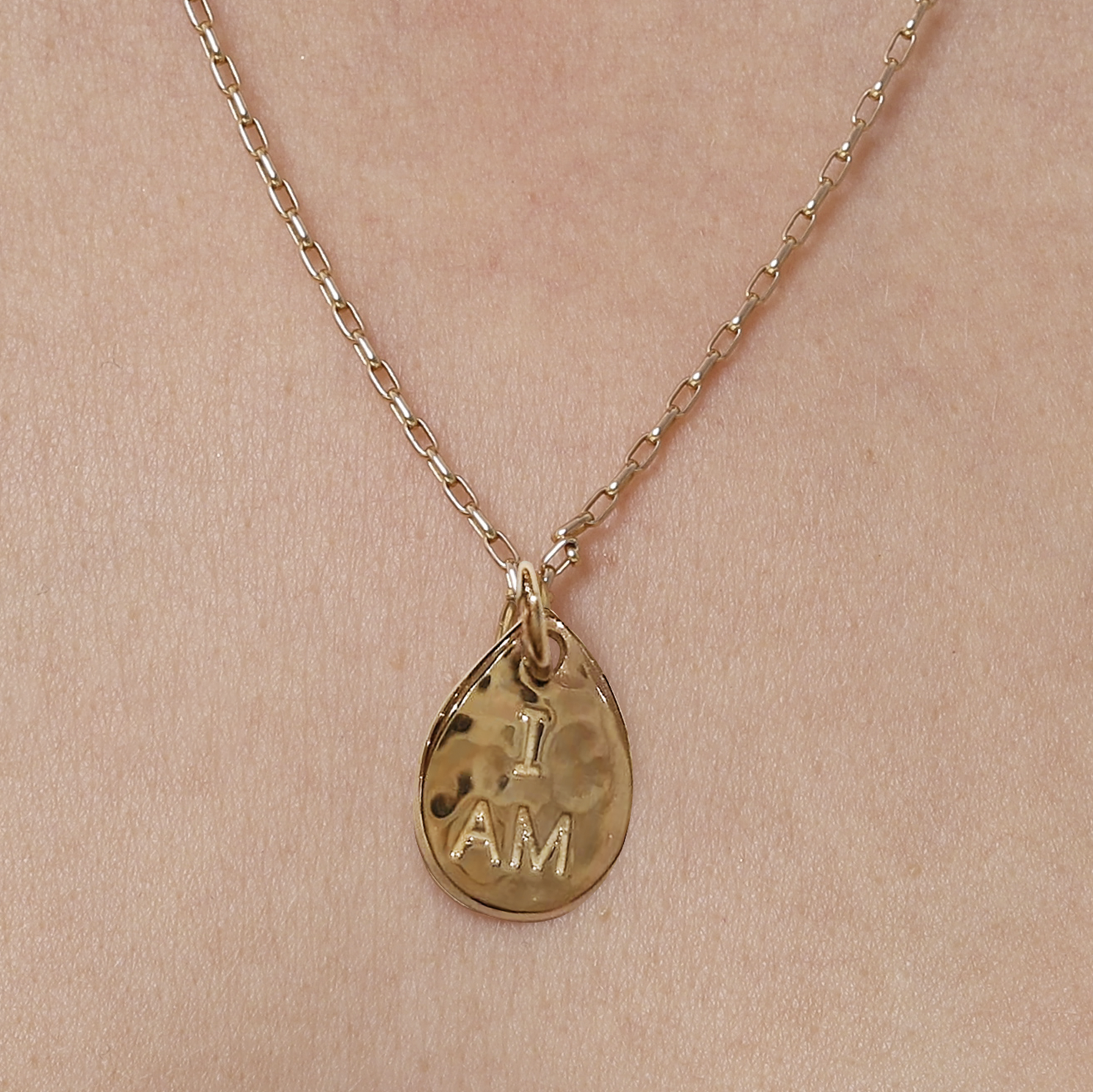 I Am He Is 18ct Gold Plated Seed Necklace I Am So Many Things Great birthstone necklace for any lady you know!! i am he is 18ct gold plated seed necklace