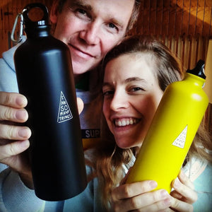 Reusable Water Bottle - Cool Black
