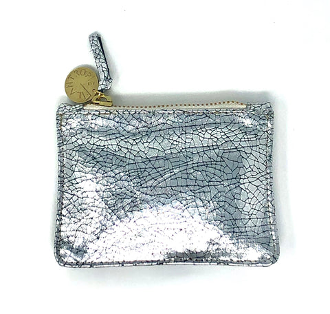 Leather Coin Clutch