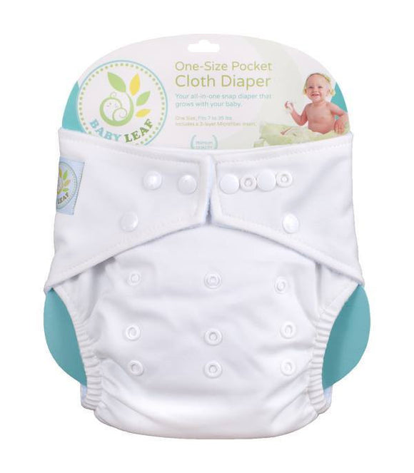 Baby Leaf Cloth Diapers Kits - Cloth Diapers - Mothering Earthlings - Baby Leaf - 1