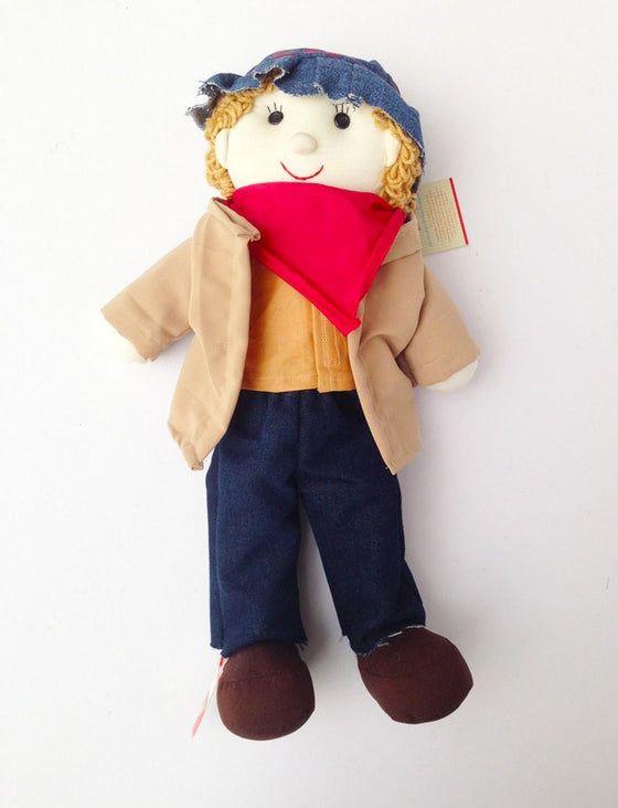 Cowboy Rag Doll - Toys - Mothering Earthlings - Anthill - 1