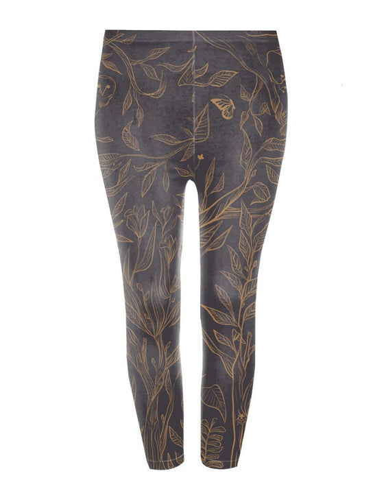 Deer Tree Leggings - Pants - Mothering Earthlings - Googoo & Gaga - 1