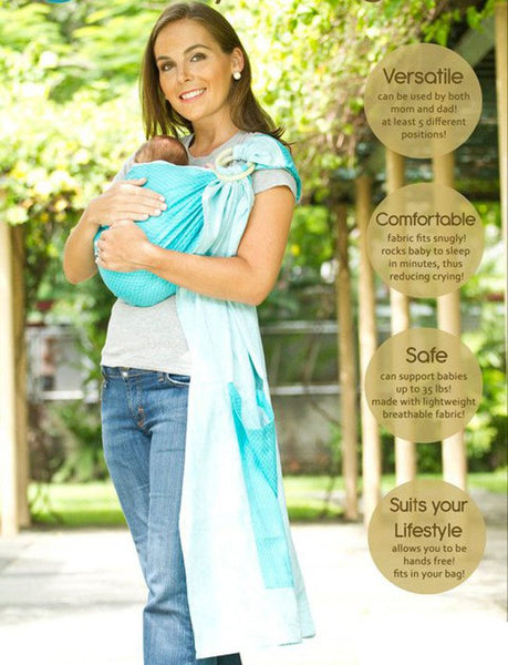 Next9 Ring Sling - Baby Carriers - Mothering Earthlings - Next9 - 1