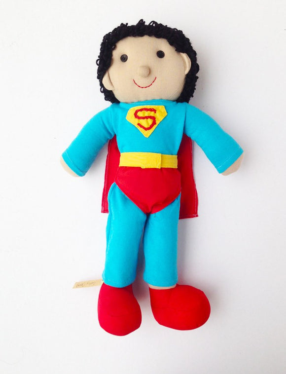 Super Hero Rag Dolls - Toys - Mothering Earthlings - Anthill - 1