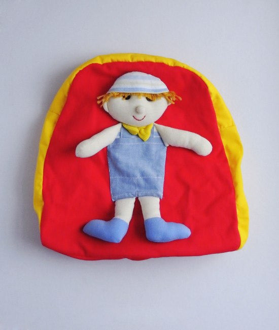Boy Rag Doll Backpacks - Bags - Mothering Earthlings - Anthill - 1