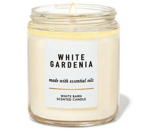 Bath & Body Works Single Wick Candle - White Gardenia - UNIT