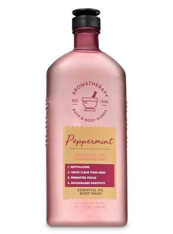 Bath & Body Works Body Wash & Foam Bath - Peppermint - UNIT