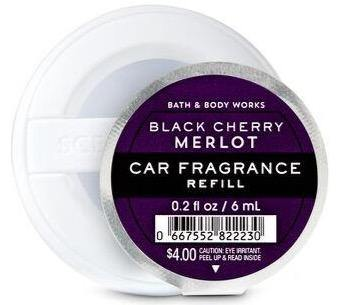 Bath & Body Works Car Fragrance Refill - Black Cherry Merlot - UNIT