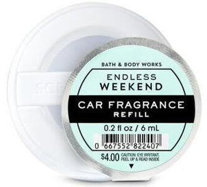 Bath & Body Works Car Fragrance Refill - Endless Weekend