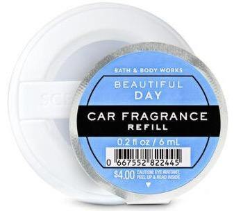 Bath & Body Works Car Fragrance Refill - Beautiful Day - UNIT