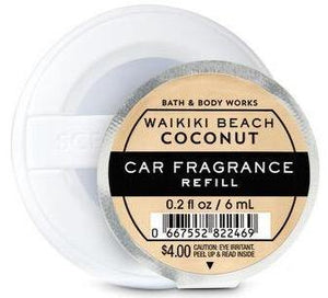 Bath & Body Works Car Fragrance Refill - Waikiki Beach Coconut - UNIT