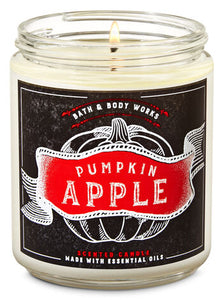 Bath & Body Works Single Wick Candle - Pumpkin Apple