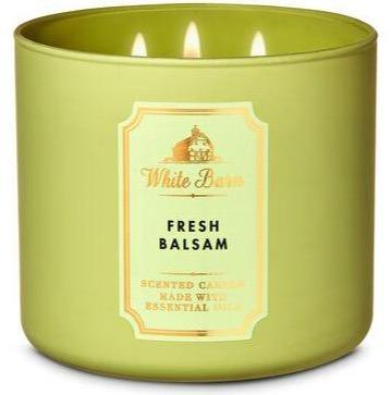 Bath & Body Works 3-Wick Candle - Fresh Balsam - UNIT