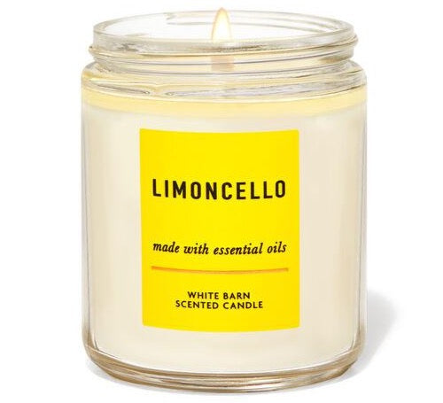 Single Wick Candle - Limoncello