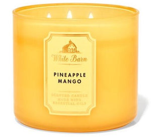 3-Wick Candle - Pineapple Mango