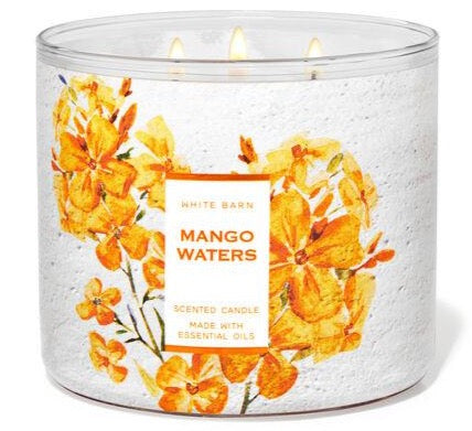 Bath & Body Works 3-Wick Candle - Mango Waters