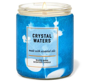 Single Wick Candle - Crystal Waters