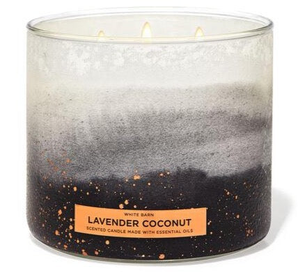Bath & Body Works 3-Wick Candle - Lavender Coconut
