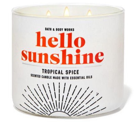 Bath & Body Works 3-Wick Candle - Tropical Spice