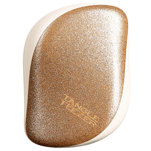 Tangle Teezer Compact Styler Hairbrush - Gold Starlight