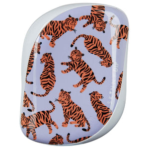 Tangle Teezer Compact Styler Hairbrush - Trendy Tiger