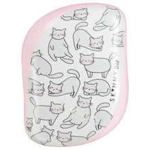 Load image into Gallery viewer, Compact Styler Hairbrush - Relaxed Cat