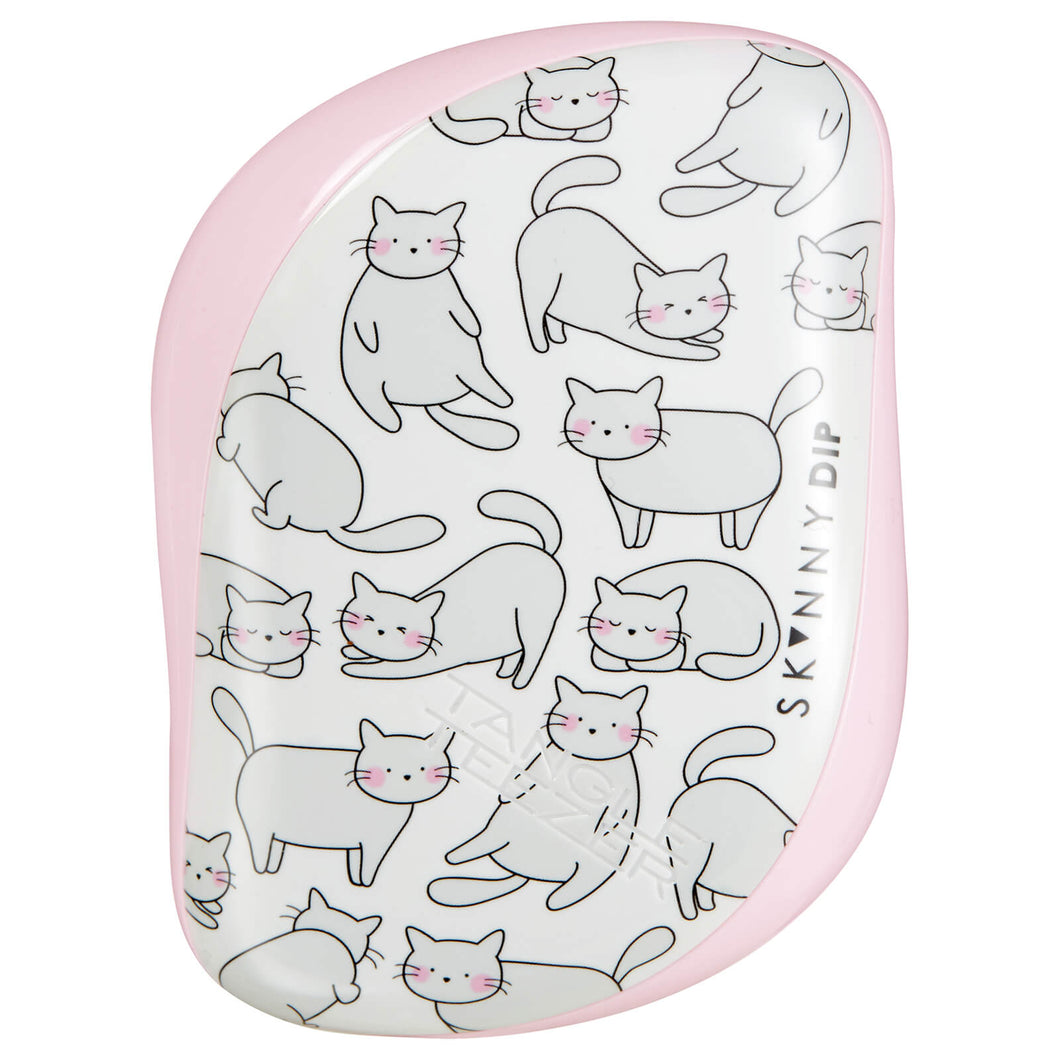 Compact Styler Hairbrush - Relaxed Cat