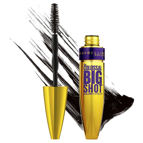 Maybelline Volum' Express The Colossal Big Shot Waterproof Mascara - Very Black