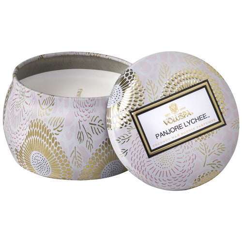 Petite Tin Candle - Panjore Lychee