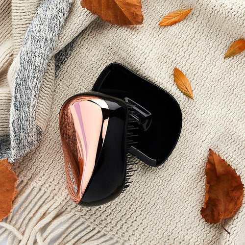 Compact Styler Hairbrush - Black Rose Gold