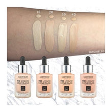 Load image into Gallery viewer, Catrice HD Liquid Coverage Foundation - Light Beige 010