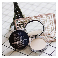 Load image into Gallery viewer, Catrice Prime And Fine Mattifying Powder Waterproof  - Transparent