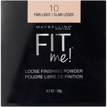 將圖像加載到圖庫查看器中,Maybelline Fit Me Loose Finishing Powder - Fair Light 蜜粉