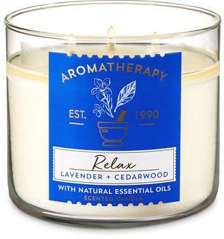 Bath & Body Works 3-Wick Candle - Lavender Cedarwood