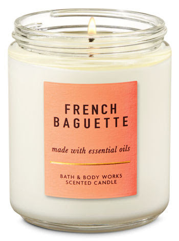 Bath & Body Works Single Wick Candle - French Baguette
