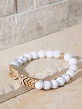 Load image into Gallery viewer, Chevron Stone Bracelet