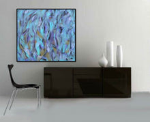 Load image into Gallery viewer, Autumn Blue - Acrylic Painting