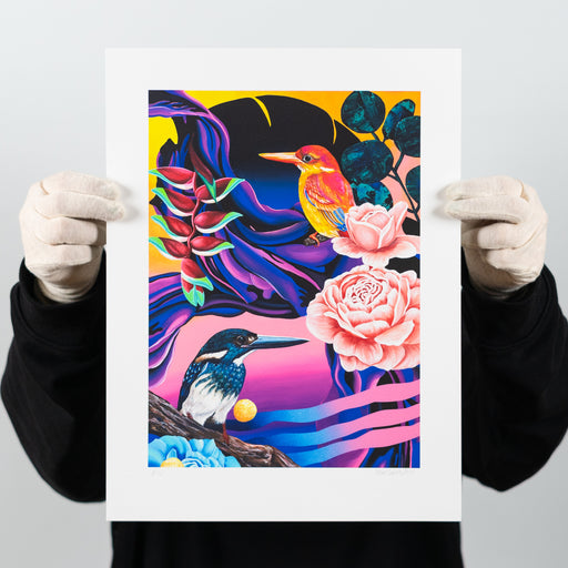 Ara – Irene Lopez Leon – Artscape Warehouse – Street art print – Urban art print for sale – Limited edition street art print