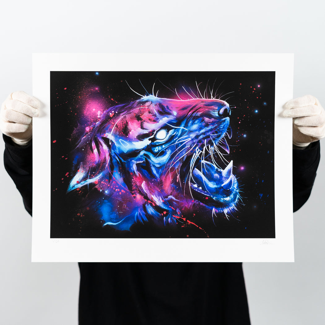 Nebula – Sagie – Artscape Warehouse – Street art print – Urban art print for sale – Limited edition street art print