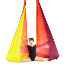 Load image into Gallery viewer, Multi-color Aerial Anti-gravity Yoga Hammock Swing